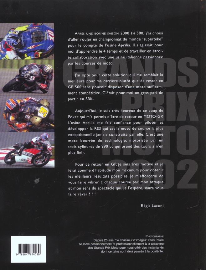 Grands prix moto 2002