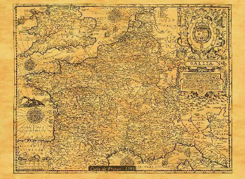 La France en 1593
