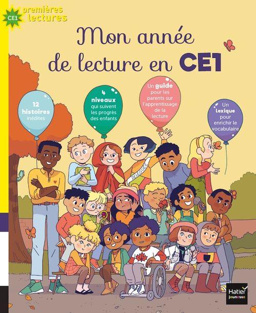 Vente EBooks : Mon année de lecture au CE1  - Anne LOYER  - Christelle Chatel  - Nadine Brun-Cosme  - Ingrid CHABBERT