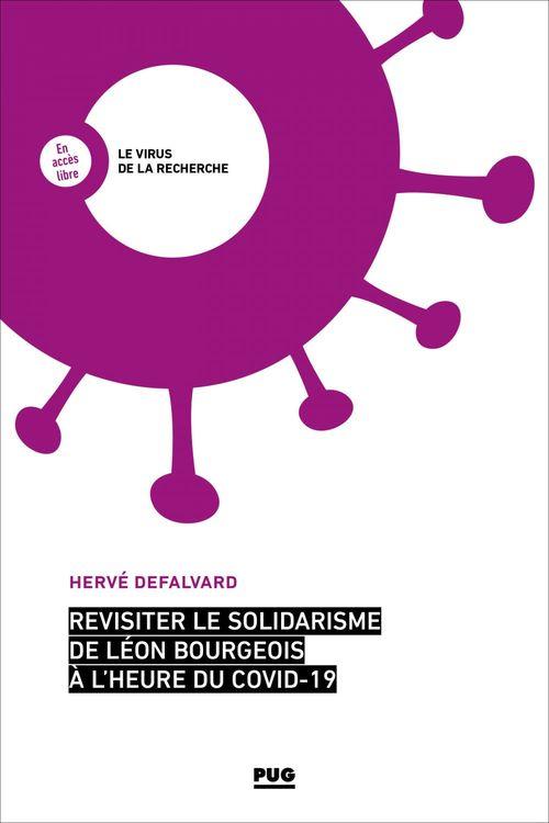 Revisiter le solidarisme de Léon Bourgeois à l'heure du Covid-19