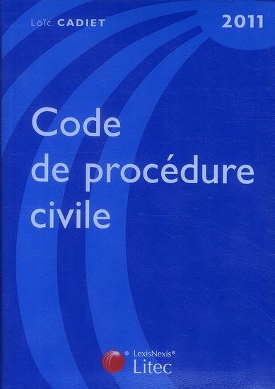 Code de procédure civile (édition 2011)