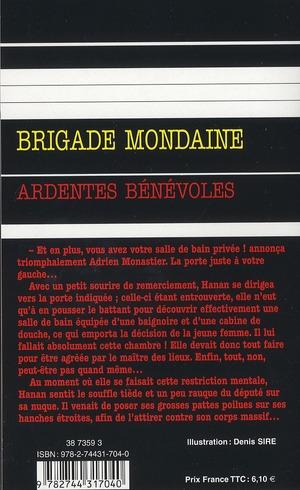 Brigade mondaine t.322 ; ardentes bénévoles