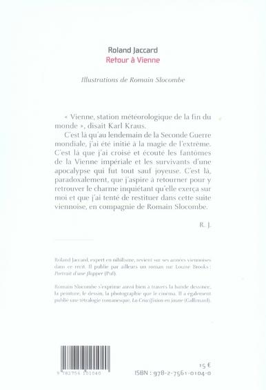 Retour A Vienne Roland Jaccard Leo Scheer Grand Format Librairies Autrement