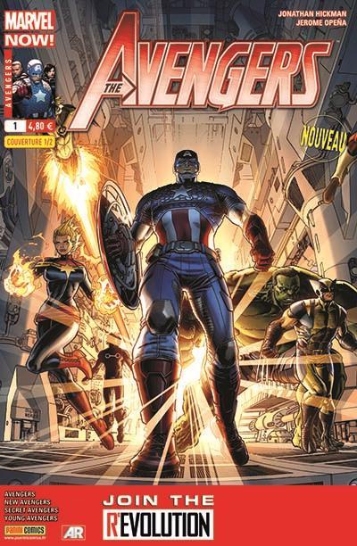 Avengers 2013 001 1/2 (D. Weaver)