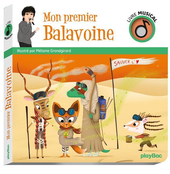 Livre musical ; mon premier Balavoine