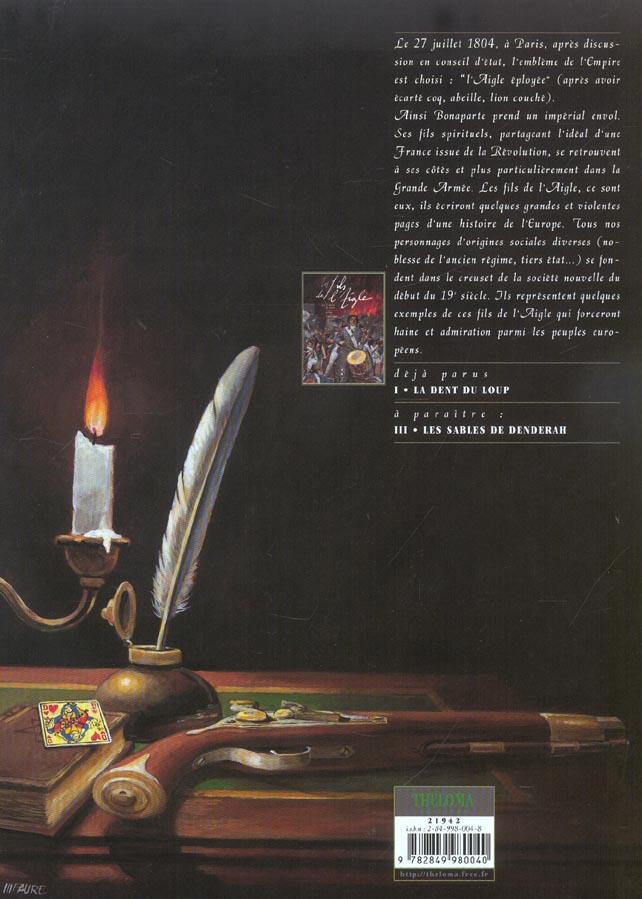 LES FILS DE L'AIGLE T.2 ; les fils de l'aigle t.2 ; les collets noirs