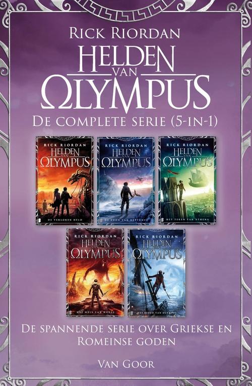 De helden van Olympus - De complete serie (5-in-1)