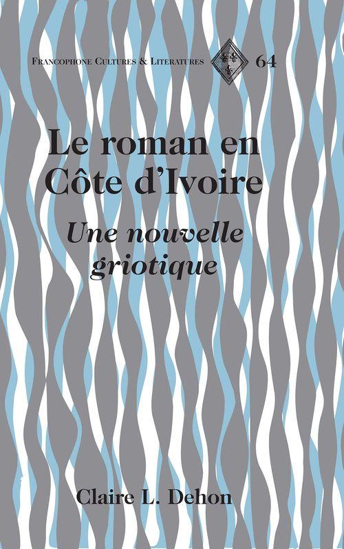 Le roman en cote d'ivoire