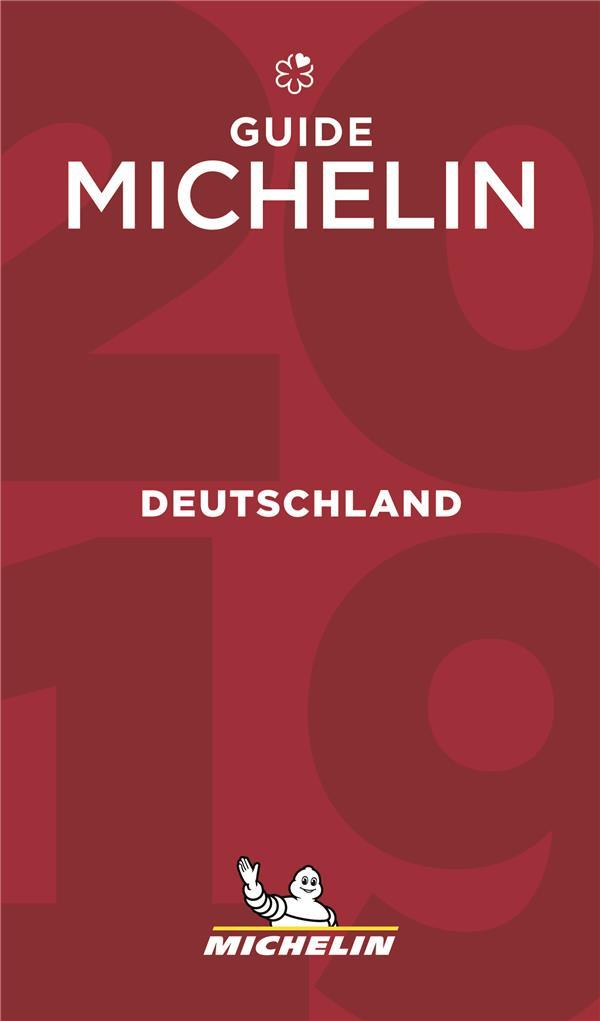 Guide rouge ; Deutschland (édition 2019)