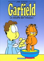 Couverture de Garfield t.21 ; la soupe est froide !