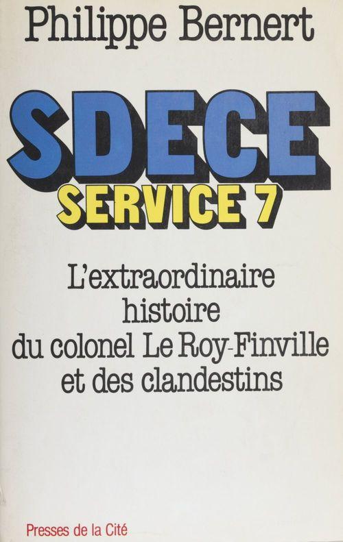 Sdece service 7 extra.histoire
