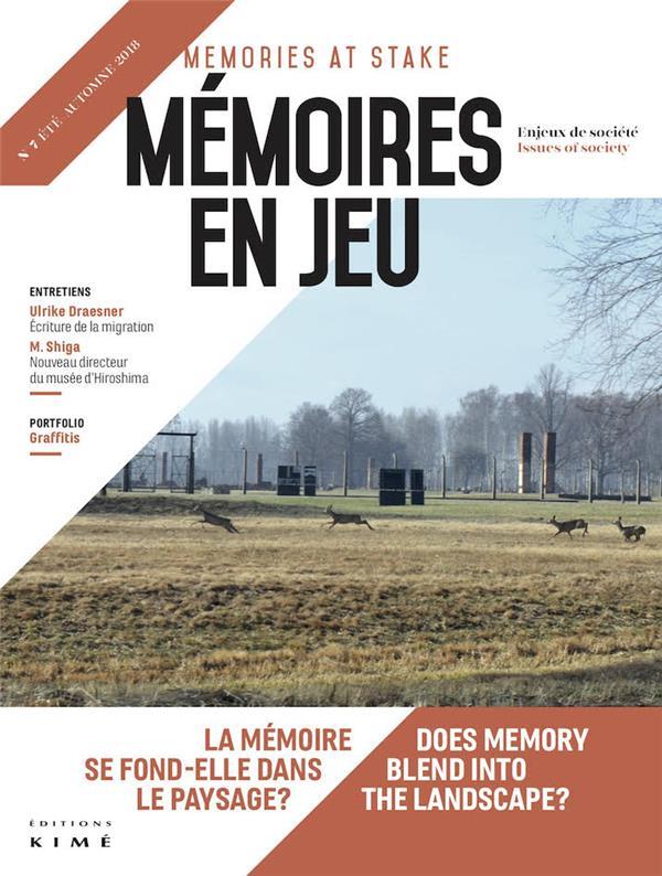 Paysage et memoire