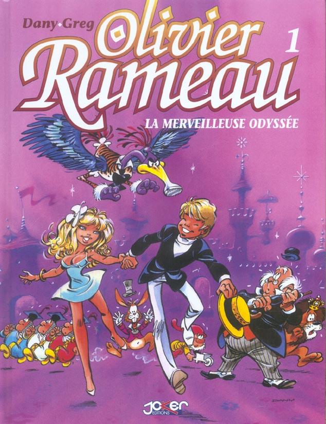 Olivier Rameau ; t.1 à t.3