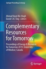 Complementary Resources for Tomorrow  - Ahmad Vasel-Be-Hagh - David S-K. Ting