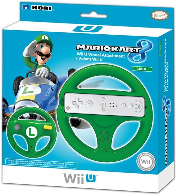volant 'Luigi' pour Nintendo Wii U
