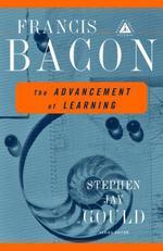 Vente Livre Numérique : The Advancement of Learning  - Francis Bacon