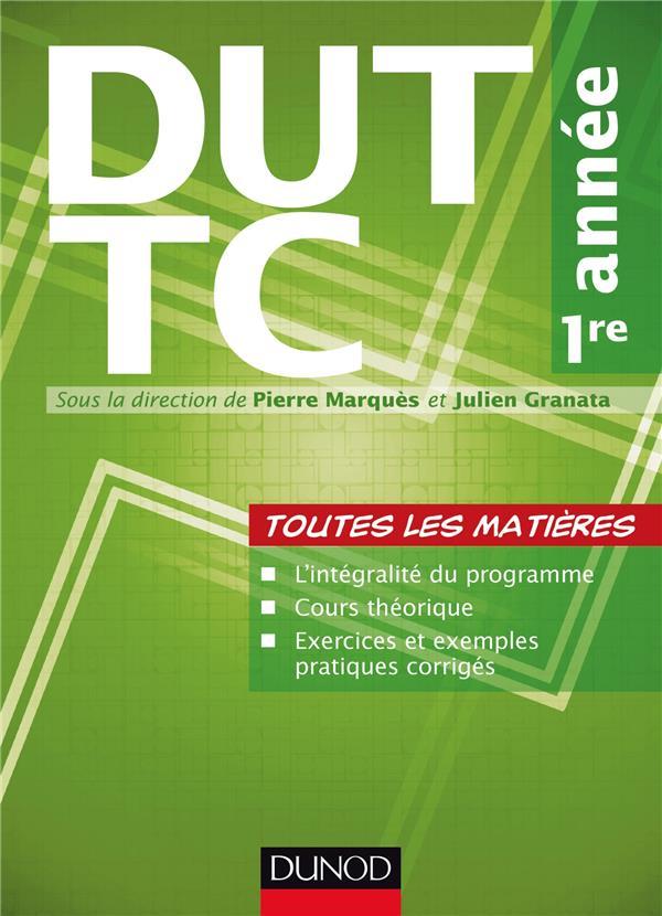 DUT TC (techniques de commercialisation) ; 1ère année