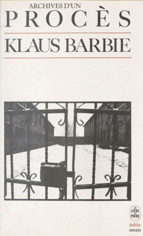 Archives d'un proces - klaus barbie