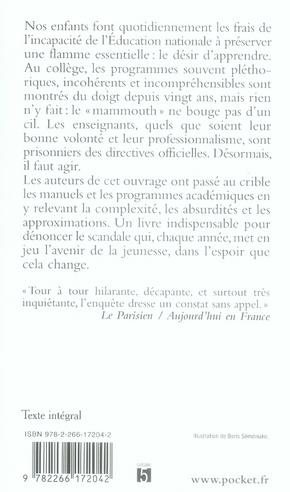 Réveille-toi Jules Ferry, ils sont devenus fous ; comment les programmes du collège envoient nos enfants dans le mur