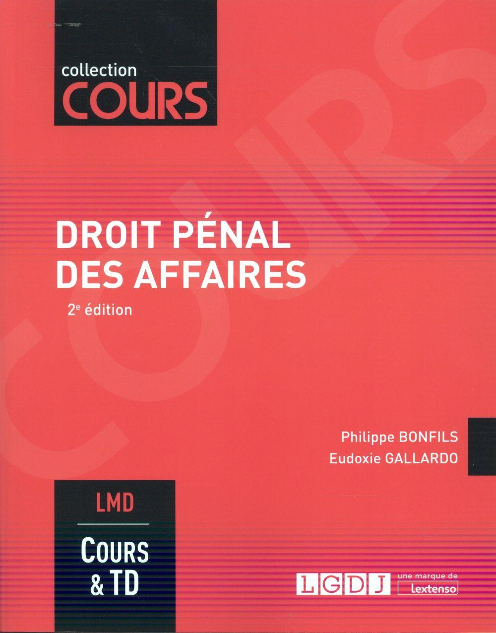 Droit pénal des affaires (2e édition)