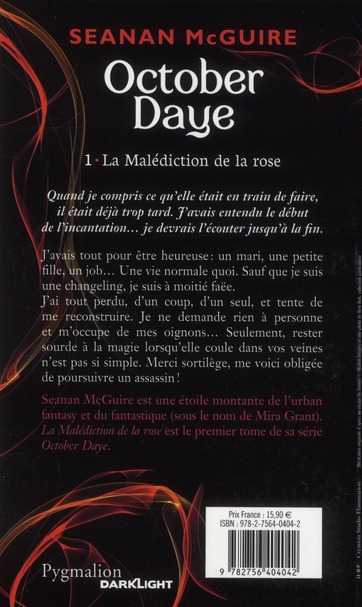 October daye t.1 ; la malédiction de la rose