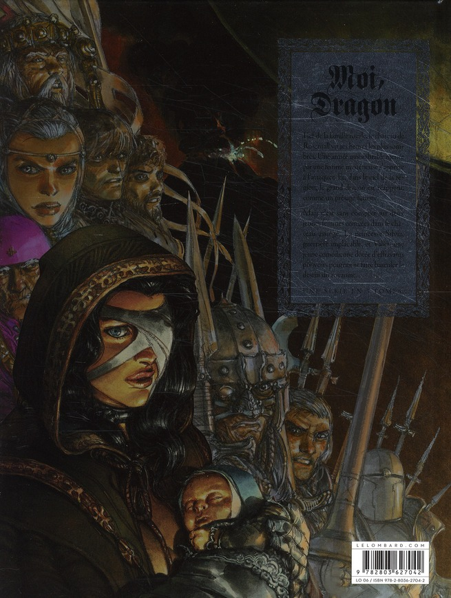 Moi, dragon t.1 ; fin de la génèse