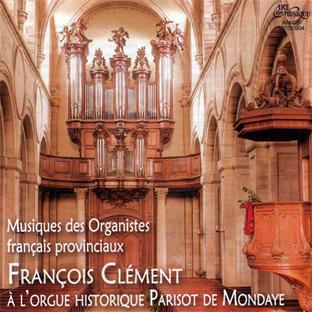 musique des organistes français provinciaux