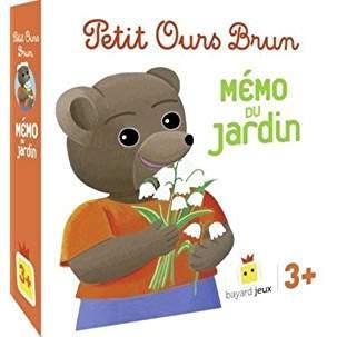Jeu Petit Ours Brun ; mémo du jardin