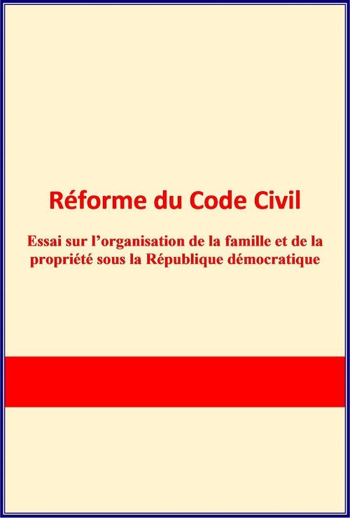 Réforme du Code Civil