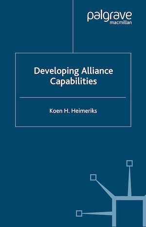 Developing Alliance Capabilities