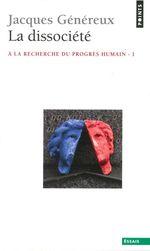 Vente Livre Numérique : La Dissociété  - Jacques Généreux