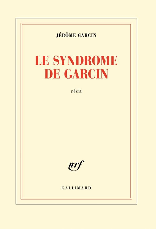 Le syndrome de Garcin