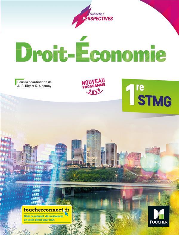 économie-droit ; 1re STMG ; manuel de l'élève (édition 2019)
