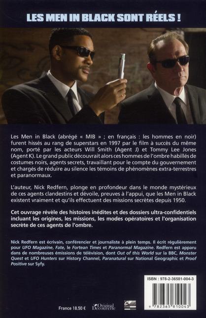 Les véritables Men in black ; les hommes en noir