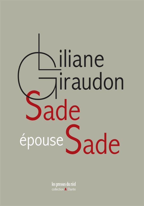 Sade épouse Sade