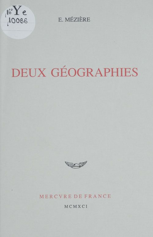 Deux géographies