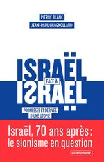 Vente EBooks : Israël face à Israël  - Jean-Paul Chagnollaud - Pierre BLANC