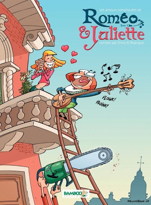 Vente Livre Numérique : Les Amours Compliquées de Roméo et Juliette  - Erroc