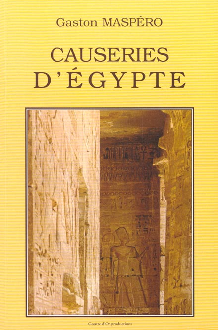 Causeries d'Egypte