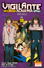 Vente Livre Numérique : Vigilante - My Hero Academia Illegals T08  - Kohei Horikoshi - Hideyuki Furuhashi