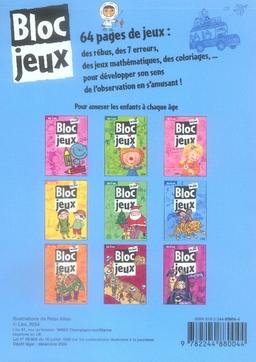 Bloc-jeux ; 64 jeux