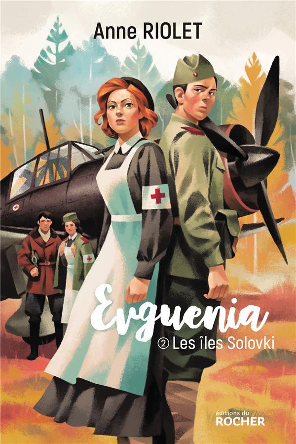 Evguenia T.2 ; les îles Solovki