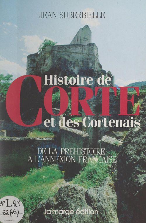 Histoire de Corte et des Cortenais
