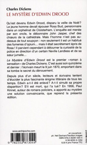 Le mystère d'Edwin Drood