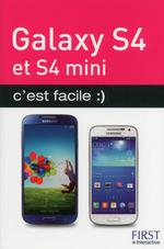 Vente Livre Numérique : Galaxy S 4 et S 4 Mini c'est facile  - Henri Lilen