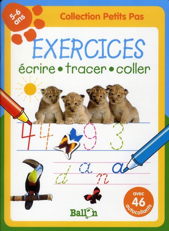 Exercices petits pas ; lionceaux