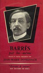 Vente Livre Numérique : Barrès par lui-même  - Maurice BARRES