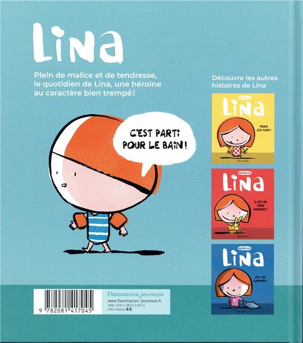 Lina t.4 ; championne de la salle de bain !