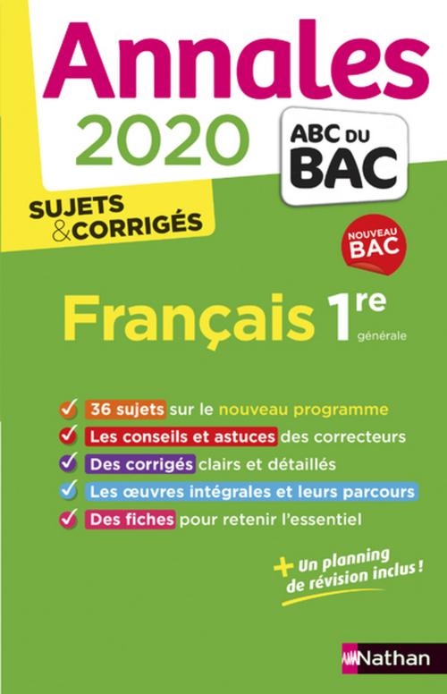 EPUB-Annales BAC 2020 - Français 1re COR