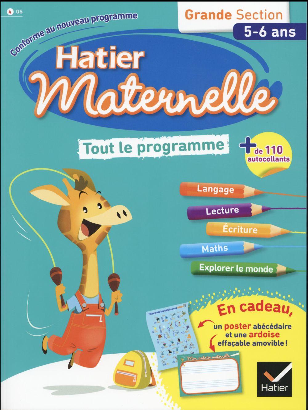 Hatier Maternelle ; Tout Le Programme ; Grande Section